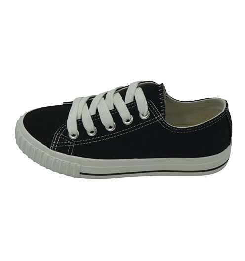 Vulcanized Low cut Lace up Kid Shoes