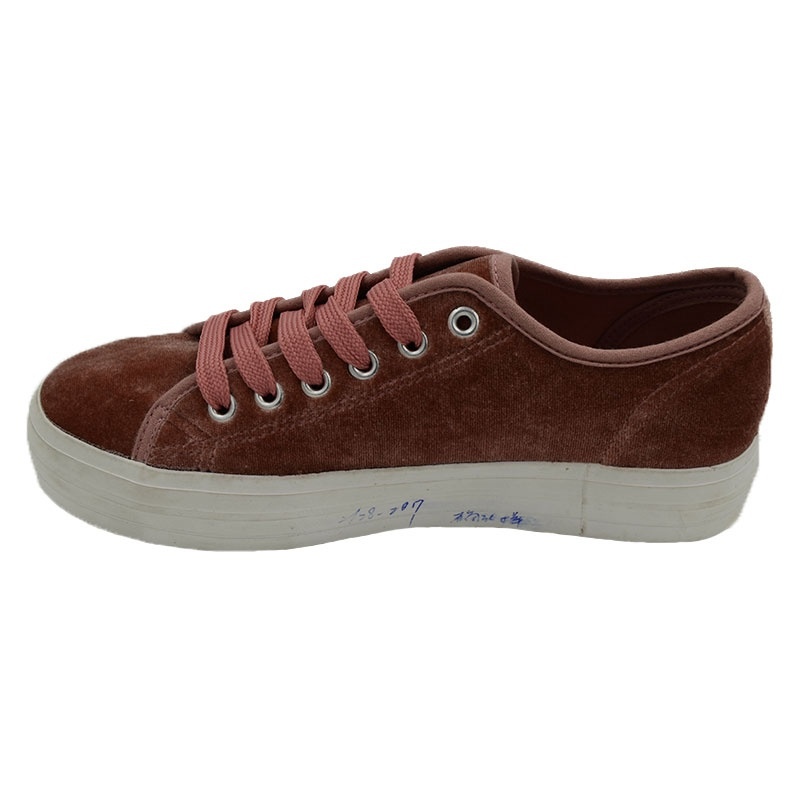 Vulcanized low cut women shoes