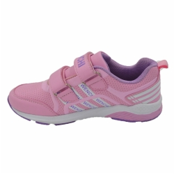 PU low cut lace up kid shoes