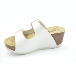 Women Thick Heel Cork Slipper