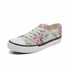 Women Lace Up Canvas Shoes