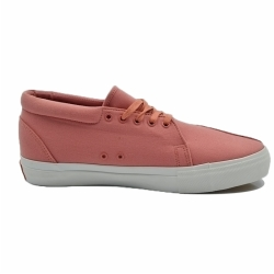 Men Pink Canvas Casual Shoes