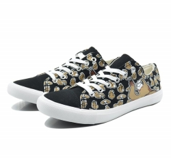 Vulcanized printed upper shoes