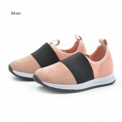 Kids fashion slip on shoes in pink