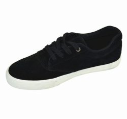 Vulcanized Low cut Lace up Men Canvas Shoes